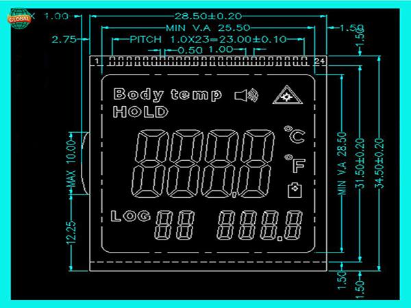 TN段码液晶屏
